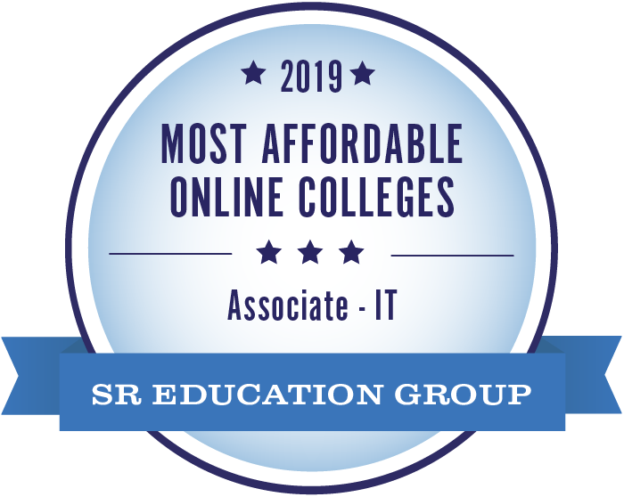 2019 Most Affordable Associate Information Technology Degree Seal