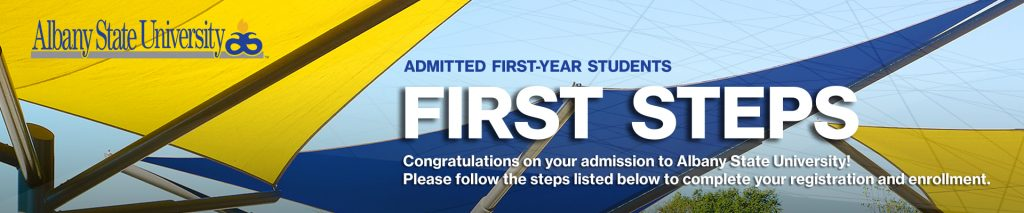 Admission First Steps