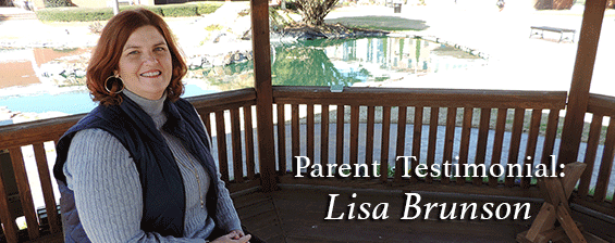 Parent Testimonial: Lisa Brunson