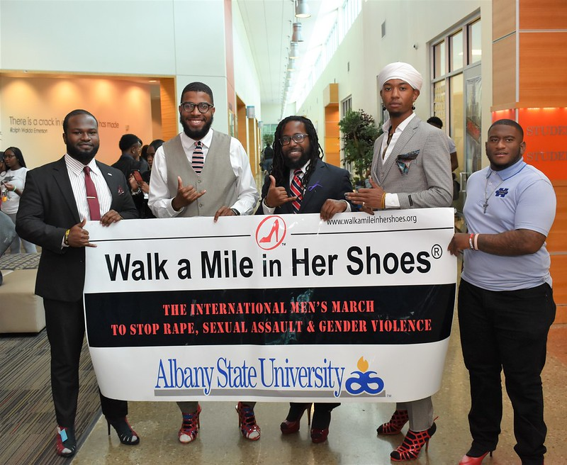 walk a mile in her shoess event